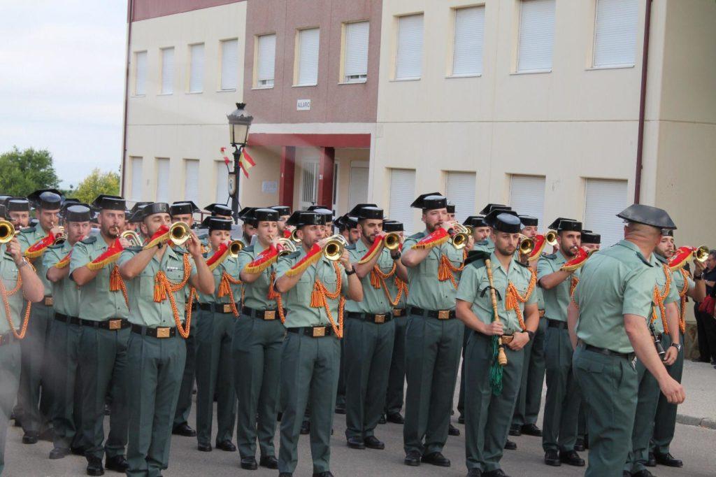 Entrega de despachos Academia Guardia Civil Baeza 2019