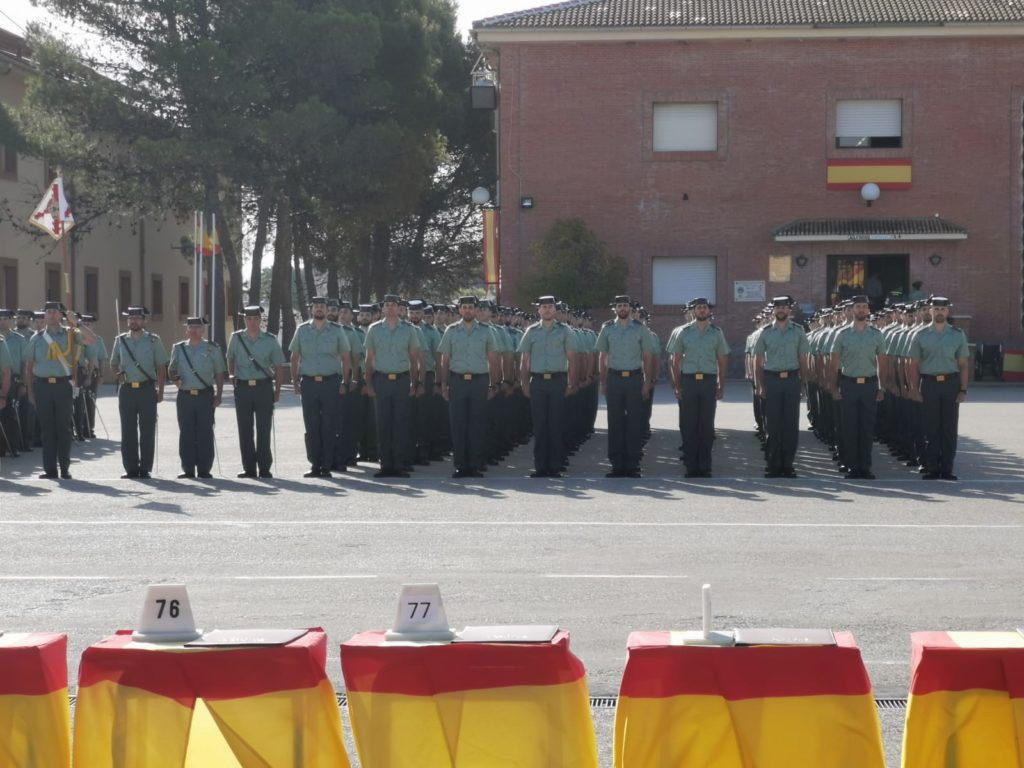 Entrega de despachos Academia Guardia Civil Baeza 2019